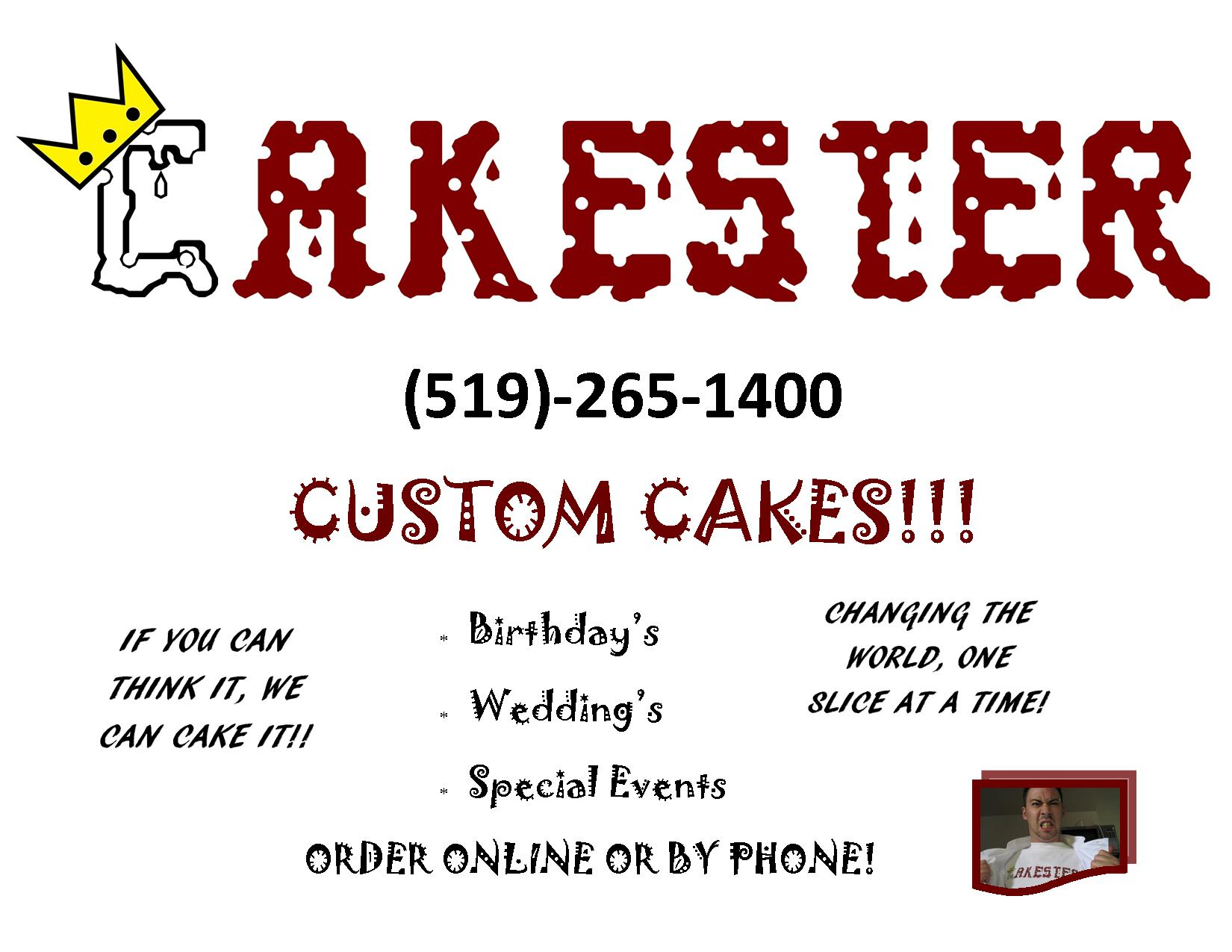 Welcome to Cakester.ca!   The best cakes in the Kitchener/Waterloo ...