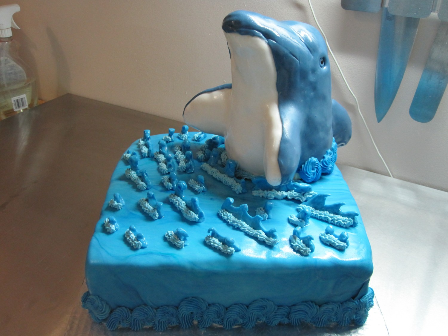 Cake Images In 3d : 3D DOLPHIN CAKE Welcome to Cakester.ca!